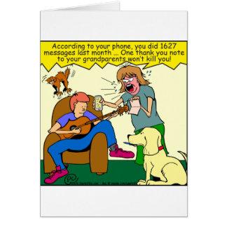 bande dessinée du carte de remerciements 911