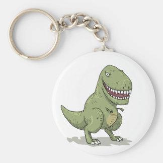 Bande dessinée du dinosaure T Rex Porte-clef
