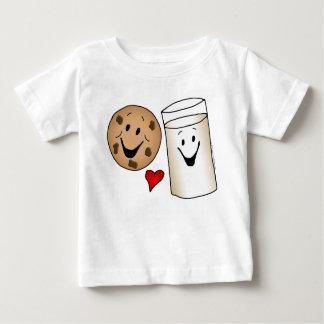 Bande dessinée fraîche de biscuits et d'amis de t-shirt pour bébé