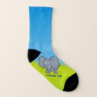 Bande dessinée grise d'éléphant