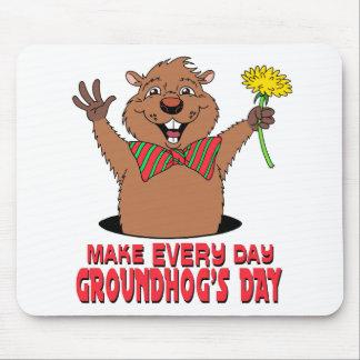 Bande dessinée Groundhog Tapis De Souris