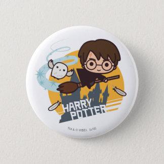 Bande dessinée Harry et vol de Hedwig après Badge