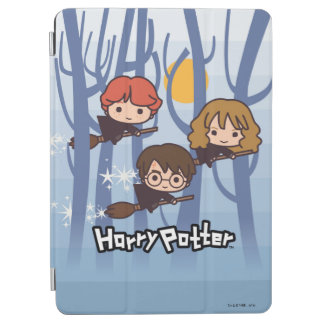 Bande dessinée Harry, Ron, et vol de Hermione en Protection iPad Air