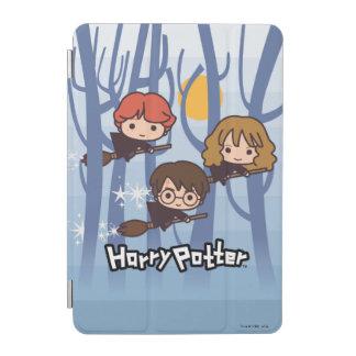Bande dessinée Harry, Ron, et vol de Hermione en Protection iPad Mini