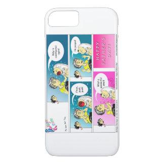 Bande dessinée heureuse de fête des pères coque iPhone 7