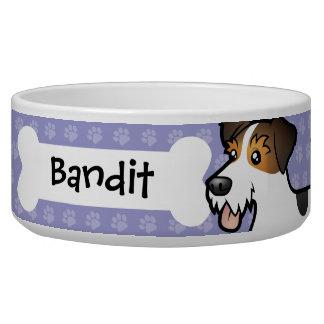 Bande dessinée Jack Russell Terrier Bols Pour Chien