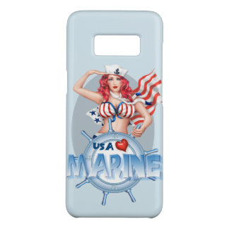 BANDE DESSINÉE MARINE SEXY Samsung Galaxy8 À PEINE Coque Case-Mate Samsung Galaxy S8