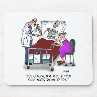 Bande dessinée médicale 9378 tapis de souris