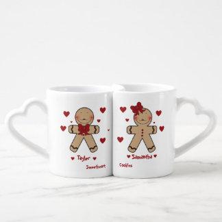 Bande dessinée mignonne de biscuits de pain mug