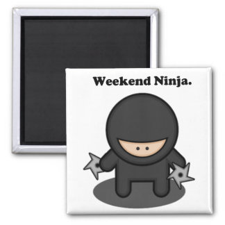 Bande dessinée mignonne de combattant de Ninja de Aimant