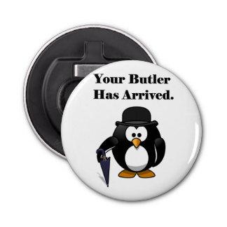 Bande dessinée mignonne de pingouin de maître