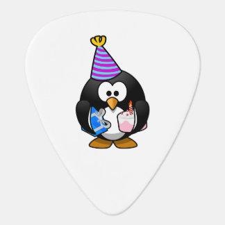 Bande dessinée mignonne de pingouin de partie onglet de guitare
