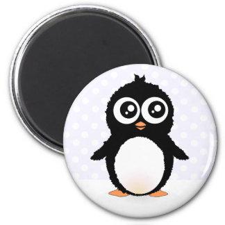 Bande dessinée mignonne de pingouin magnets pour réfrigérateur