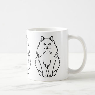 Bande dessinée norvégienne de chat de forêt mug