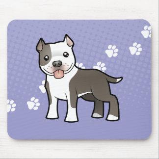 Bande dessinée Pitbull/Staffordshire Terrier Tapis De Souris