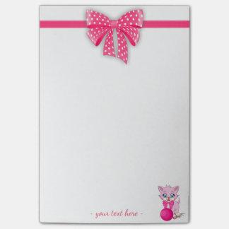 Bande dessinée rose de chaton de Cutie