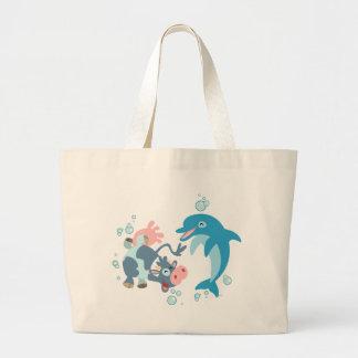 Bande dessinée Seacow et sac de dauphin