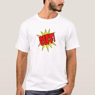 Bande dessinée SFX de coup de poing T-shirt