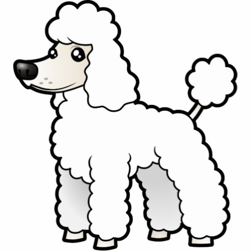 Free caniche poodle coloring pages