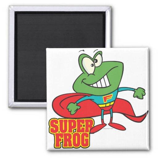 bande dessinée superbe mignonne de super héros de  magnets