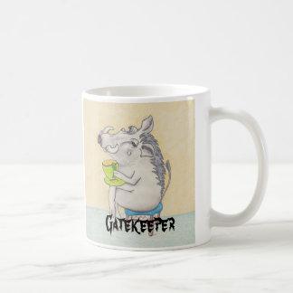 "Bande dessinée Warthog ""portier "" Mug"