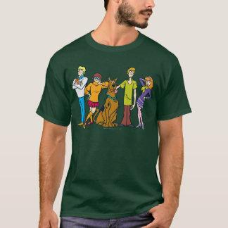 Bande entière 14 Mystery Inc T-shirt