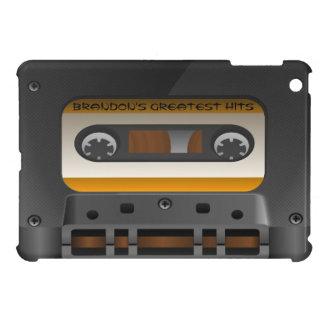 Bande mélangée rétro par cassette audio étui iPad mini