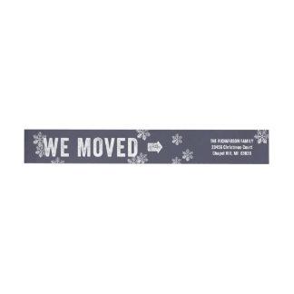 Bande Pour Adresse De Retour Marine mobile d'adresse de retour de vacances de