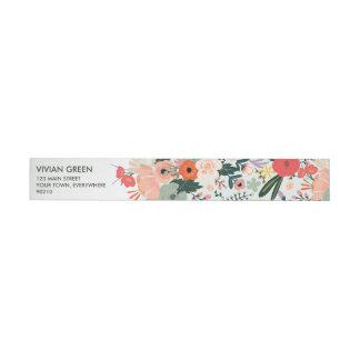 Bande Pour Adresse Enrouler floral de mariage d'Anya autour des