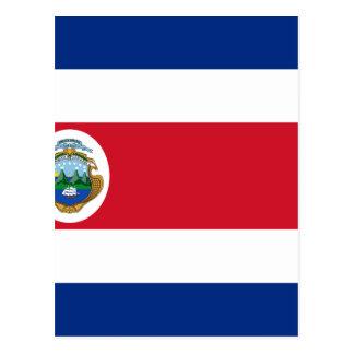 Bandera De Costa Rica - drapeau du Costa Rica Carte Postale