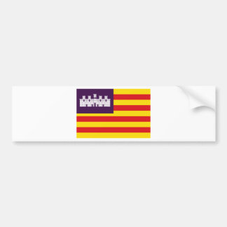 Bandera Islas Baléares - drapeau Îles Baléares Autocollant De Voiture