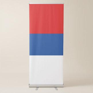 Banderole Rétractable Drapeau de la République serbe de Bosnie