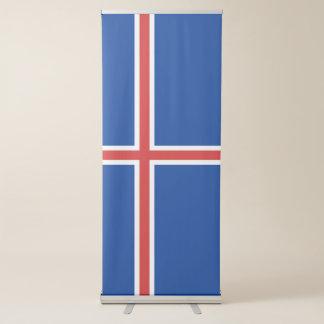 Banderole Rétractable Drapeau de l'Islande