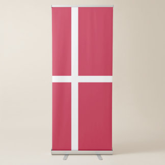 Banderole Rétractable Drapeau du Danemark