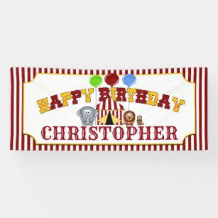 Banderoles Anniversaire du Carnaval de cirque
