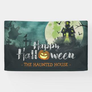 Banderoles Ciel nocturne hanté éffrayant Halloween de costume