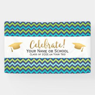 Banderoles Classe de fête de remise des diplômes de 2018
