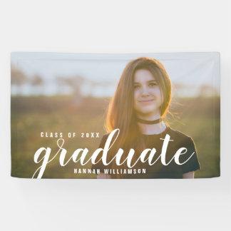 Banderoles Classe moderne de photo de diplômé du signe 2018