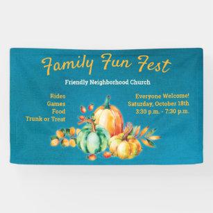 Banderoles Festival de la Communauté de récolte d'automne d