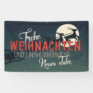 Banderoles Joyeux Noël allemand | Frohe Weihnachten