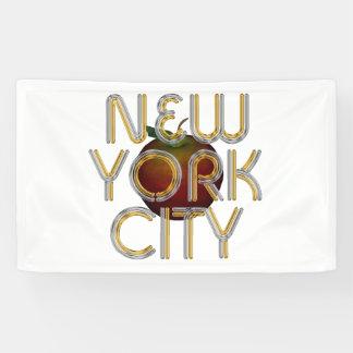 Banderoles PIÈCE EN T New York City