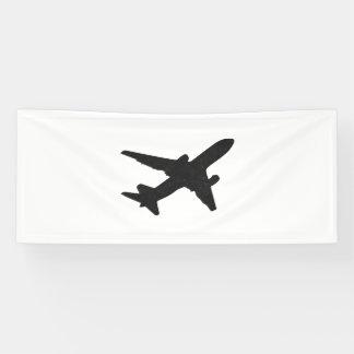 Banderoles Silhouette de jet