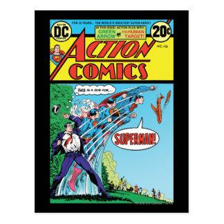 Bandes dessinées d'action #426 carte postale