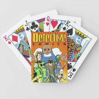 """Bandes dessinées défectueuses """"roi conception de jeu de cartes"""