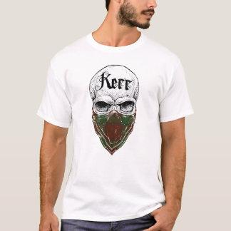 Bandit de tartan de Kerr T-shirt
