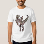 Banjo jouant le Velociraptor T-shirt