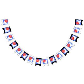 Bannière À Fanions Logo de couleur d'asp
