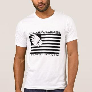 Bannière d'Américain de Tomahawk T-shirt