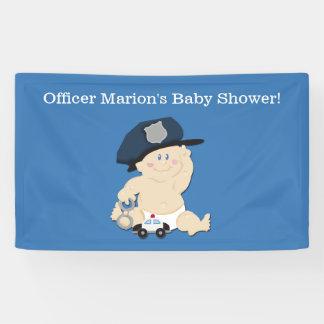 Bannière de coutume de cannette de fil de bébé de
