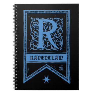 Bannière de monogramme de Harry Potter | Ravenclaw Carnet